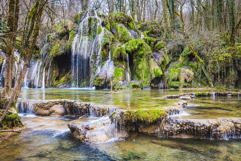 Cascades des Tufs - Les Planches-près-Arbois - Jura - Avril 2018
