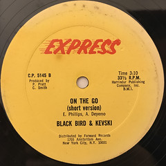 BLACK BIRD & KEVSKI:ON THE GO(LABEL SIDE-B)