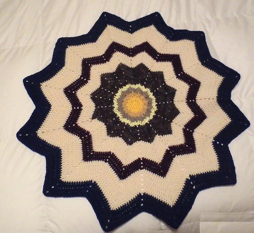 Round Ripple Blankets