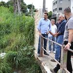 qui, 12/04/2018 - 08:11 - Visita Técnica para avaliar fissuras entre ponte e o asfalto no bairro Betânia - 12/04/2018 - Local: Rua Úrsula Paulino, próximo ao número 200 Foto: Bernardo Dias/CMBH