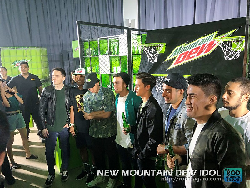 DEW IDOL JAMES REID MOUNTAIN DEW 30