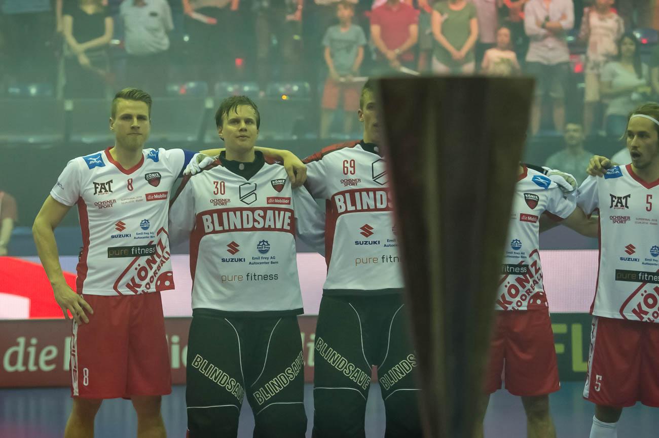 20180422: Superfinal Herren: SV Wiler-Ersigen - Floorball Koeniz