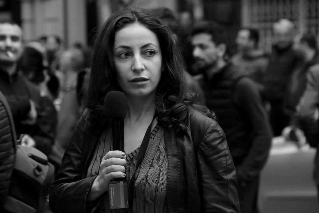 """Ruzanna Stepanian, RFE/RL """"Azatutyun"""""""