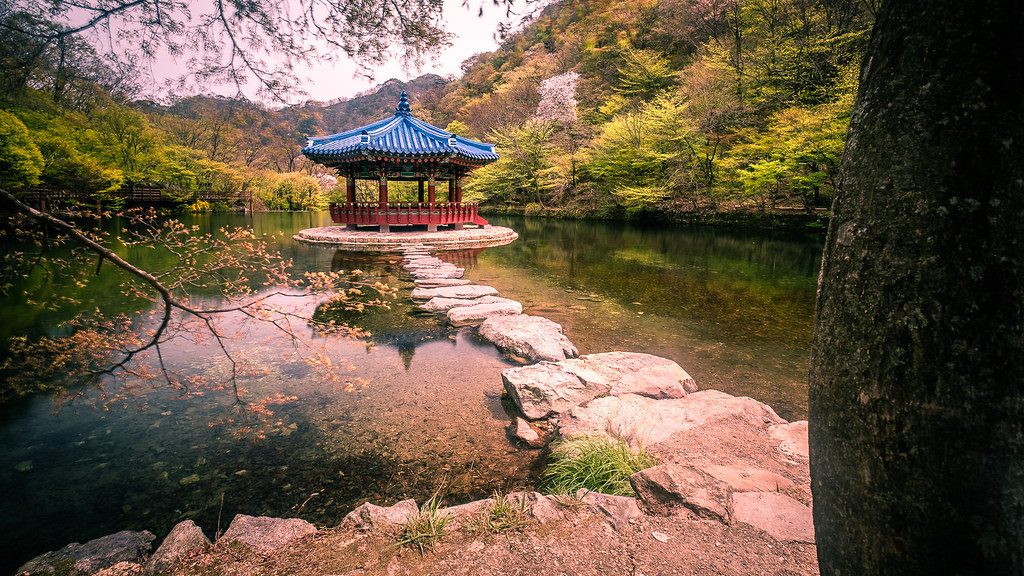 Feather pavilion, South Korea picture