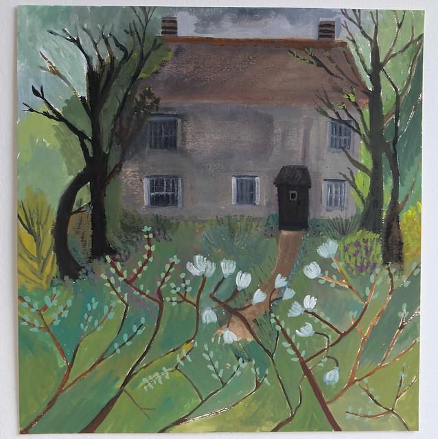 spring at viola cottage