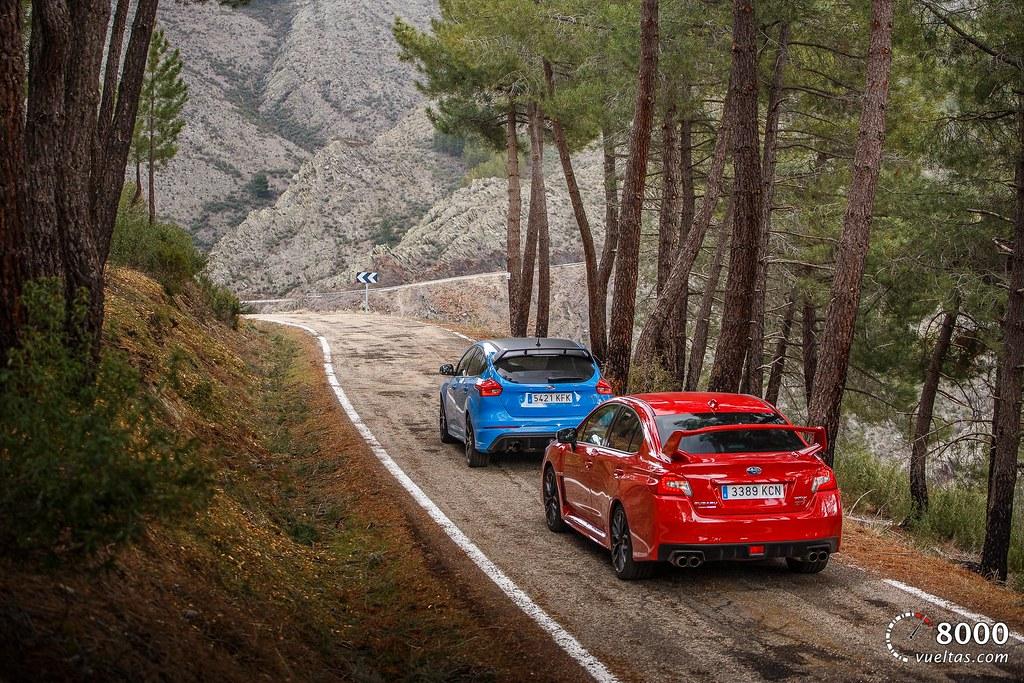 Subaru WRX STI - Ford Focus RS 8000vueltas.com-40