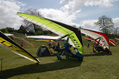 G-MZEM Solar Wings Pegasus [7227] Popham 020509