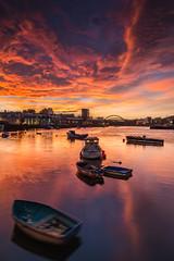 River Wear Sunset
