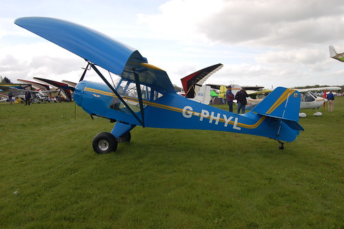 G-PHYL Denney Kitfox [PFA 172A-12189] Popham 020509