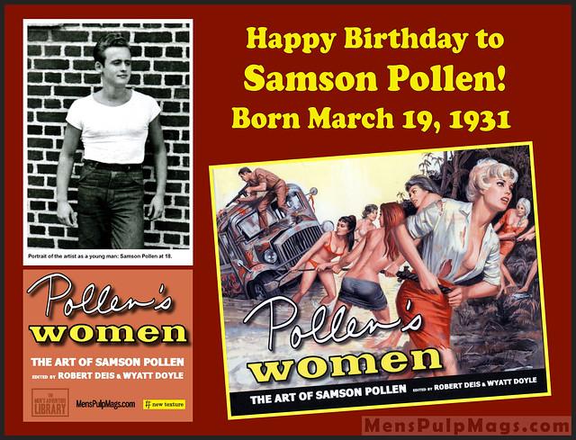 Happy Birthday to artist Samson Pollen