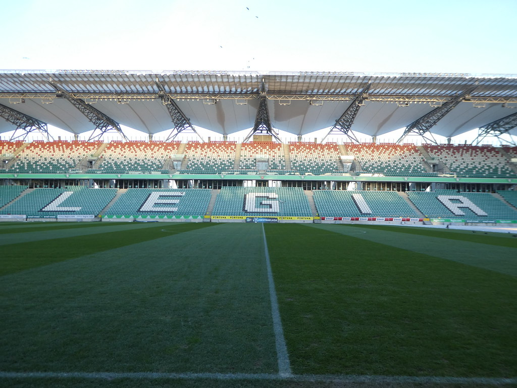 Legia Warsaw Football Stadium