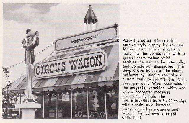 Ad Art Sot May 70 Circus Wagon