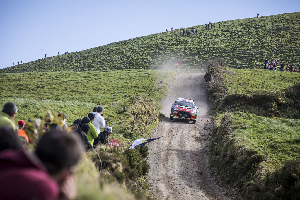 30 FONTES Jose Pedro (prt), BABO Paulo (prt), CITROEN VODAFONE TEAM, CITROEN DS3 R5, action during the 2018 European Rally Championship ERC Azores rally,  from March 22 to 24, at Ponta Delgada Portugal - Photo Gregory Lenormand / DPPI