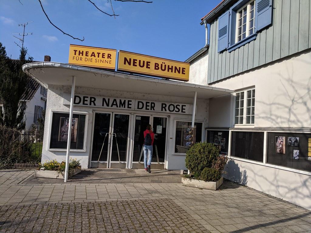 Neue Bühne in Darmstadt-Arheiligen
