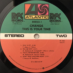 CHANGE:THIS IS YOUR TIME(LABEL SIDE-B)