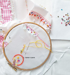 embroidery, a video