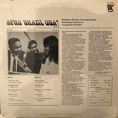 PHIL MOORE III AND THE AFRO LATIN SOULTET INTRODUCING LENI GROVES:AFRO BRAZIL OBA!(JACKET B)
