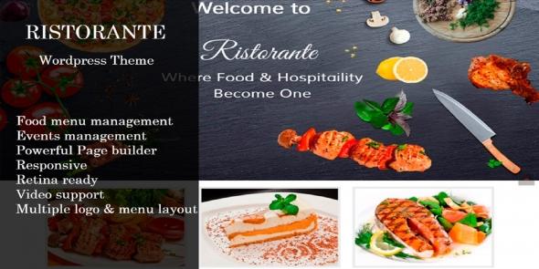 Ristorante v1.0 - WordPress Theme