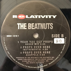 THE BEATNUTS:PROPS OVER HERE(LABEL SIDE-B)