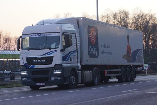 MAN TGX XLX E5 18.440 BLS - Braem Trucks N.V. Kortemark, België