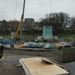 Ross Fountain building site