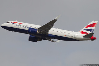 British Airways Airbus A320-251N cn 8108 F-WWIV // G-TTNA