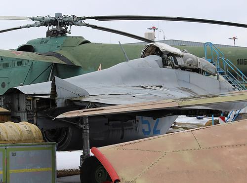 (952) 52 blue MiG-29 Riga-Skulte 10-03-18