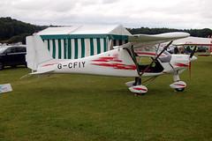 G-CFIY Ikarus Comco C-42 (0804-6954) Popham 030808