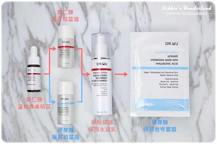 DR.WU 達爾膚 杏仁酸 使用方法
