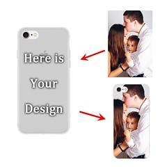 iPhone 7 / 8 - Matte Soft Case - Semi-transparent