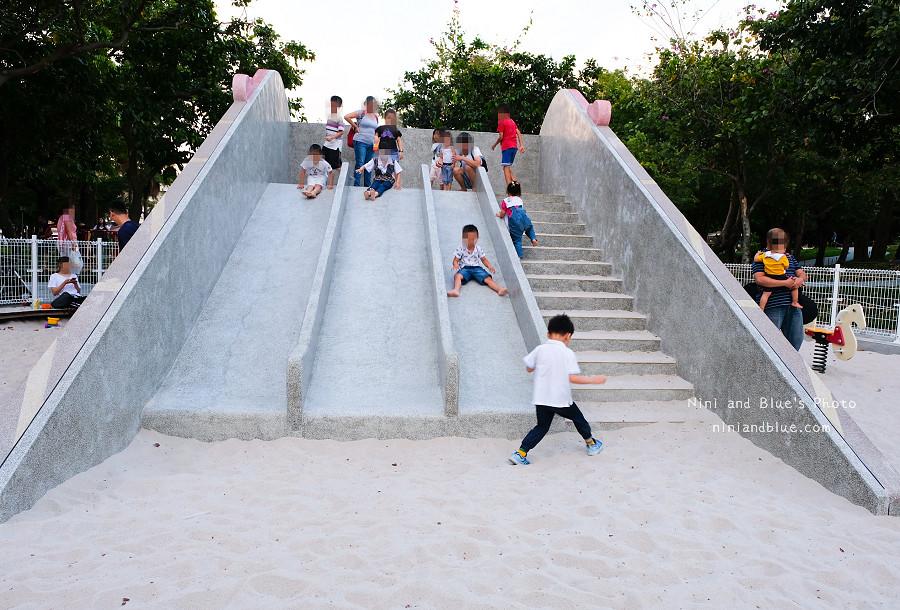 台中溜滑梯公園,福星公園.沙坑05