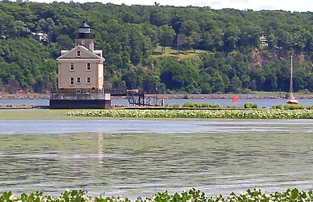 Lighthouse, Hudson River, 7-2-2016-No 2