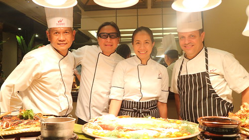 Waterfront Insular Hotel Davao Filipino Food Fiesta dinner buffet starting April 1, 2018 - Chef Lau & Chef Jac with Waterfront's Corporate Chef Giovanni Sias and Executive Chef Bienvenldo Chavez - IMG_7701