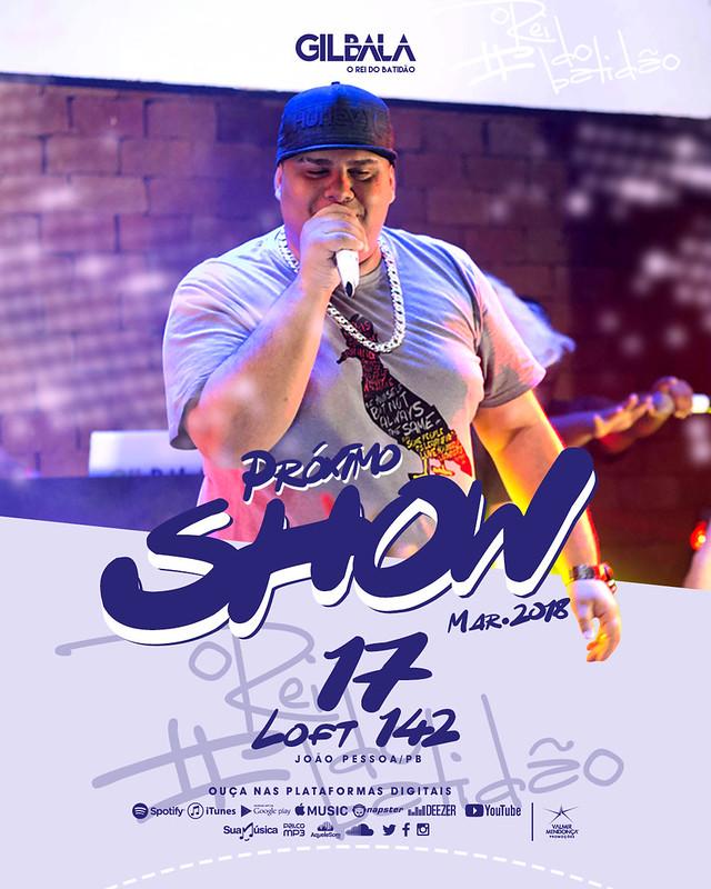 Agenda Gil Bala - Mar. 2018 - Semana 02