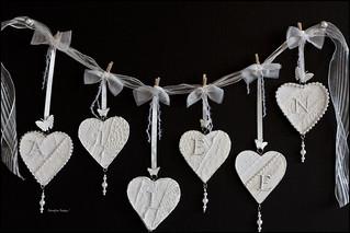Aileen's Mini Heart Banner