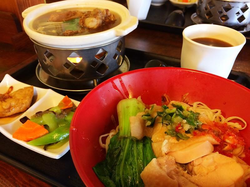 林家食府-海南雞乾拌麵套餐