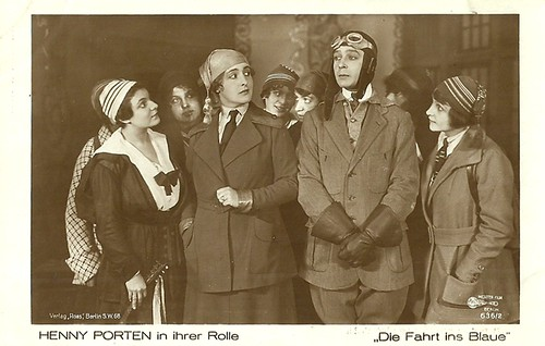 Henny Porten in Die Fahrt ins Blaue (1919)