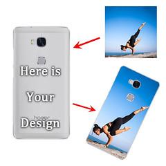 HUAWEI Honor 5X - Matte Hard Case - Semi-transparent