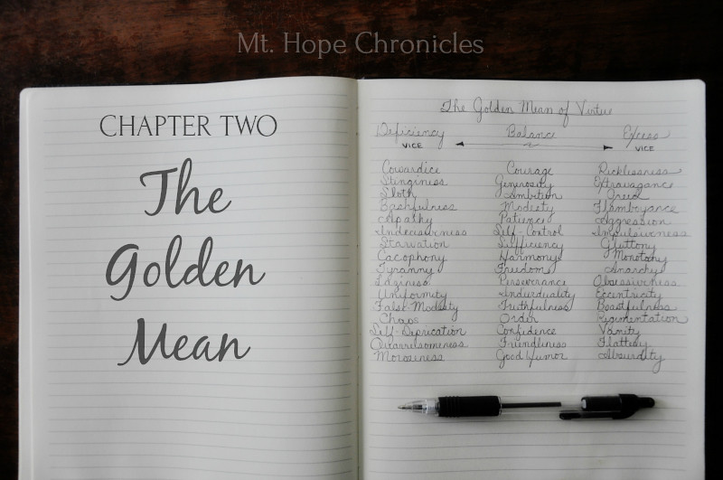 The Golden Mean @ Mt. Hope Chronicles