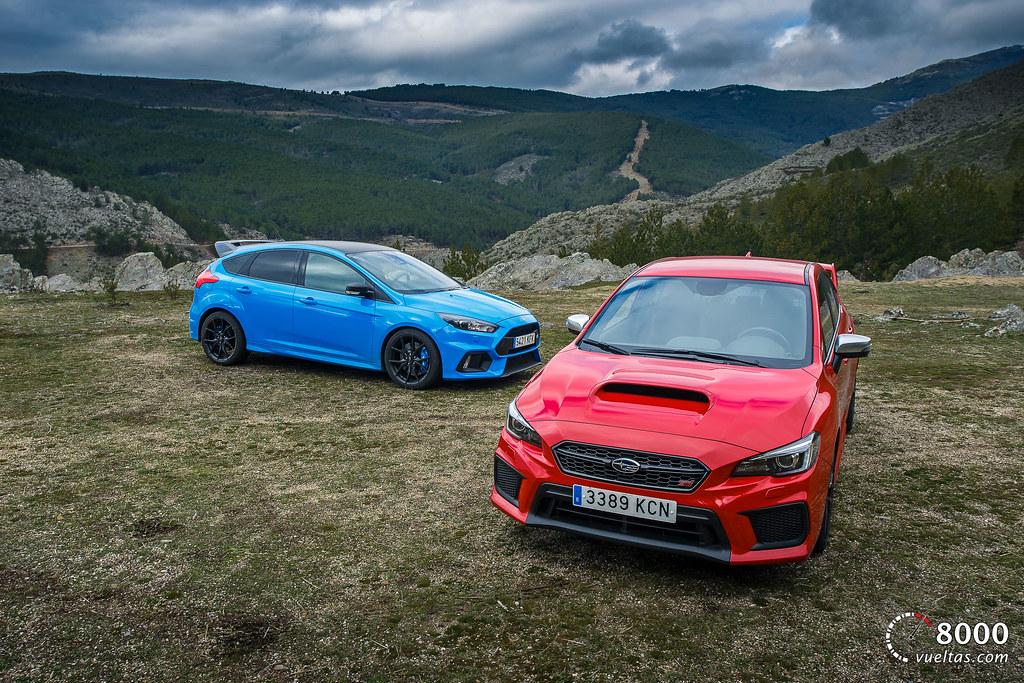 Subaru WRX STI - Ford Focus RS 8000vueltas.com-59