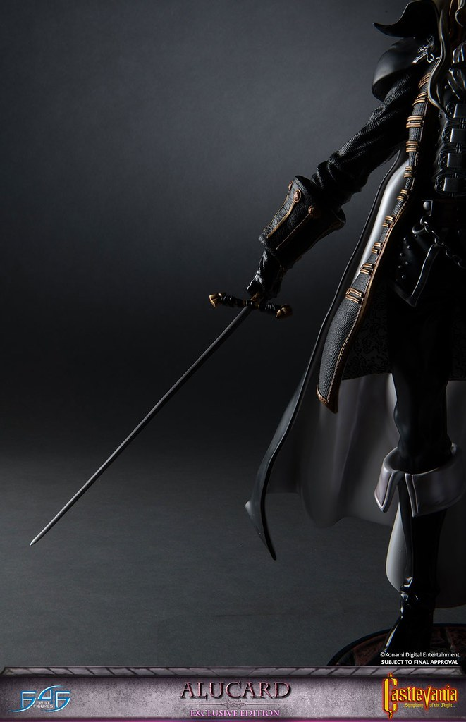 《惡魔城》系列顛峰之作!《惡魔城X月下夜想曲》阿魯卡多 雕像 Castlevania: Symphony of the Night Alucard
