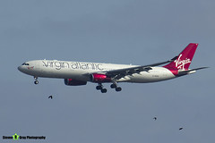 G-VUFO - 1352 - Virgin Atlantic Airways - Airbus A330-343 - Heathrow - 170402 - Steven Gray - IMG_0114