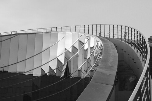 nanyangtechnologicaluniversity ntu singapore architecture blackandwhite shadows lights reflections structure metal glass sky