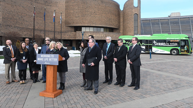 Improved transit in Edmonton metro region