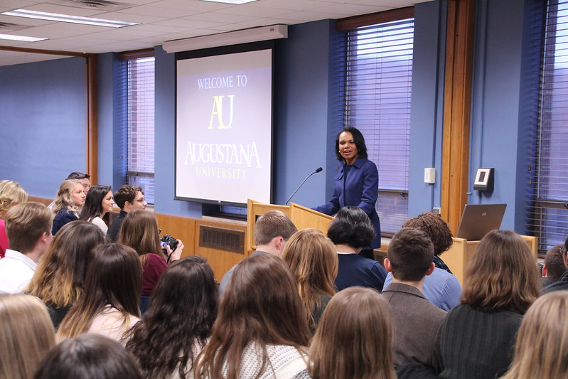 2018 Boe Forum on Public Affairs with Dr. Condoleezza Rice
