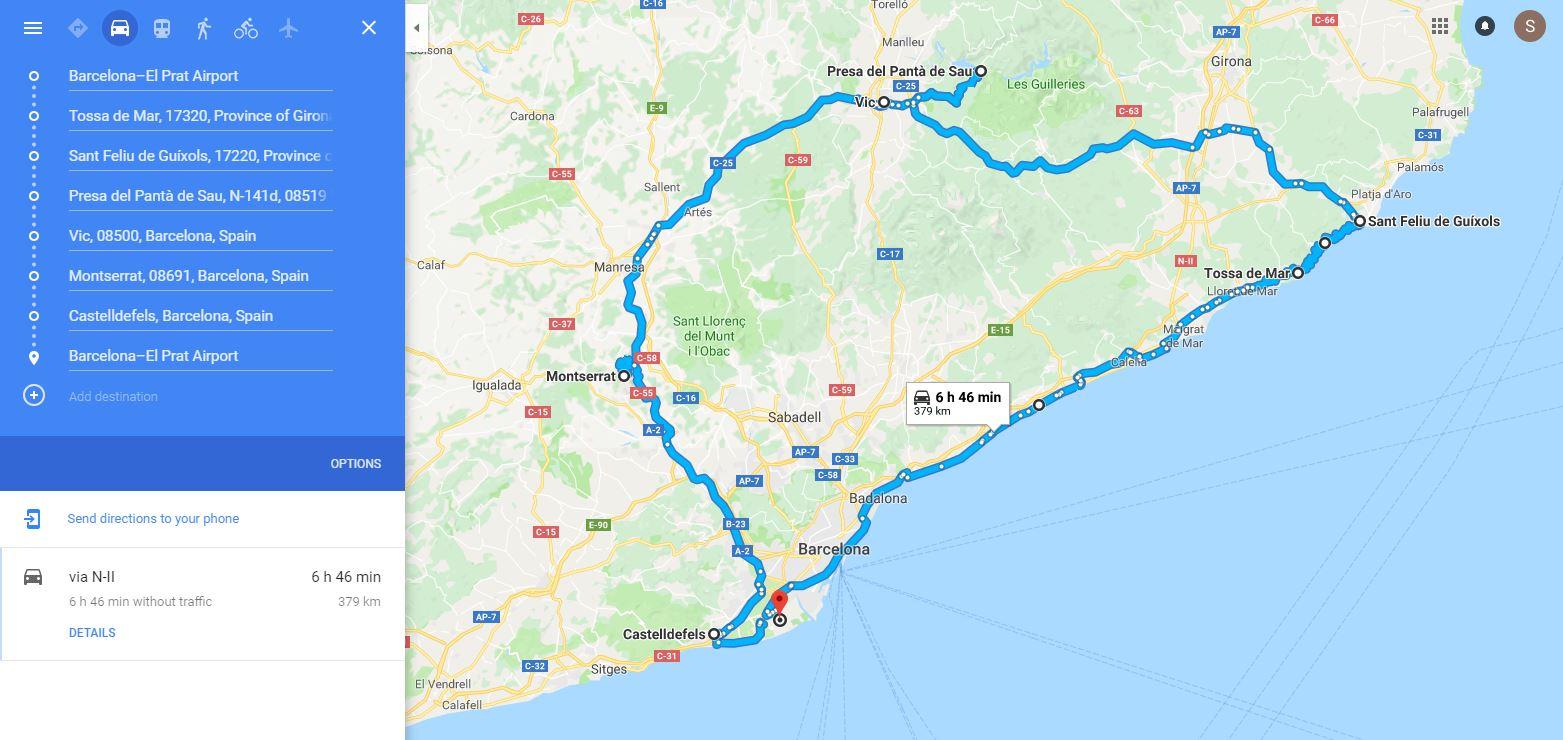 spain-2018-route