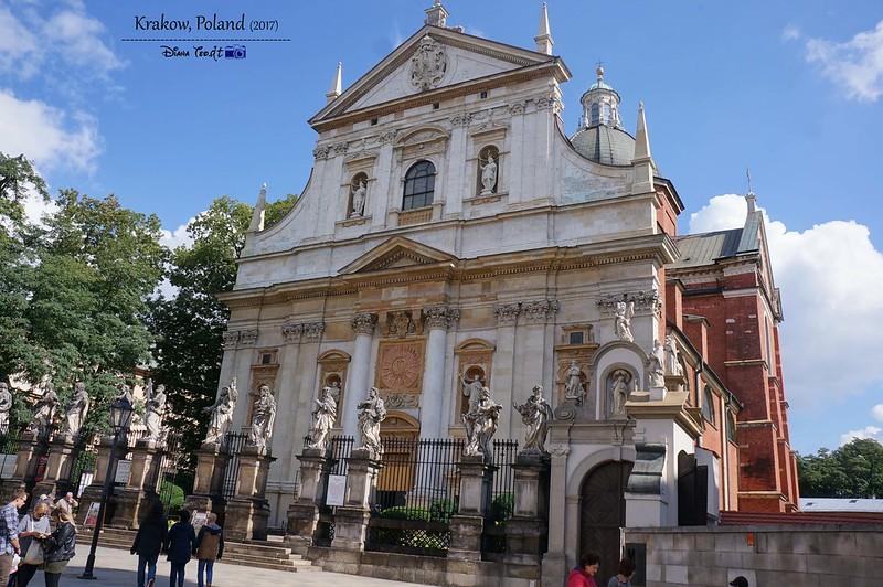 2017 Europe Krakow 04 Saints Peter and Paul Church