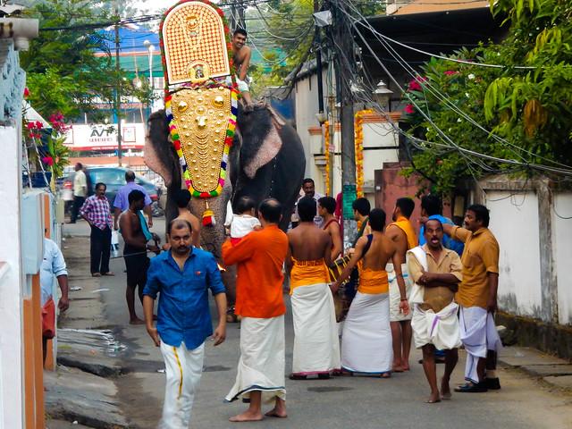 Kerala kochi Ernakulam Temple, Nikon COOLPIX S9700