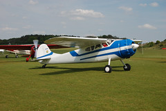 N999MH Cessna 195A (7168) Popham 010509
