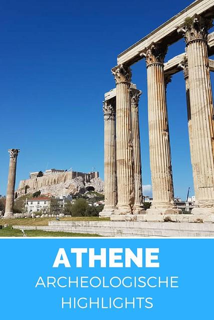 De archeologische highlights van Athene, bekijk de tips | Mooistestedentrips.nl
